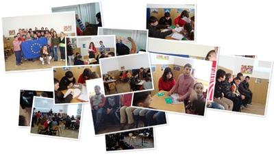 Vizualizare Europa  vizual! Şcoala Hârseşti, 28 februarie 2010